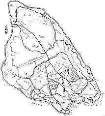 map of mackinac island and dan s guide to the mackinac area