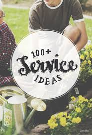 100 simple service ideas you can share with your kids lds