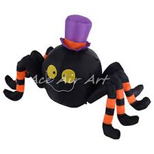 online shop cheap inflatable halloween decoration spider wearing