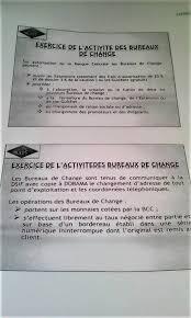 ouvrir un bureau de change rdc le cambisme ne peut se pratiquer que dans un bureau de change