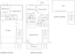 townhome floor plans townhomes floor plans