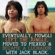 Nacho Libre Memes - what happened to mowgli disney know your meme