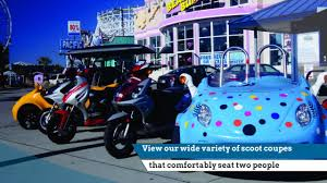 Rent A Beach House In Myrtle Beach Sc by Scoot Coupe Rental Myrtle Beach Sc Reviews Mp4 Jkw Youtube