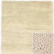 strata wool shag rug in cream and nursery necessities in interior