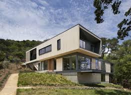 architectures house designs for hillsides plans built into