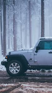 jeep snow wallpaper download wallpaper 750x1334 car suv road winter iphone 6 hd