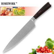 laser kitchen knives sales kitchen knife 8 inch chef stainless steel cooking knife