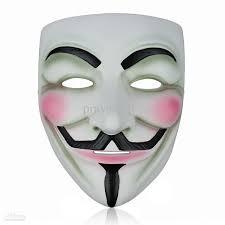 resin v for vendetta mask halloween masks cosplay party dance