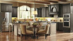 Large Kitchen Cabinet Casual Kitchen With Large Kitchen Island Omega