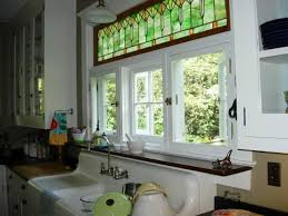 stained glass windows for kitchen cabinets 20 kitchen designs with beautifully stained glass windows