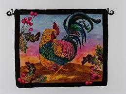 Chicken Rug Illuminate Crochet Fiber Arts Friday Rug Hooking With Cindy Irwin