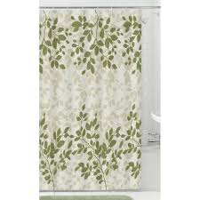 Green Bathroom Window Curtains Bathroom Wondrous Shower Curtain Walmart With Alluring Design For