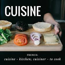 word for cuisine words that undoubtedly came from a guide