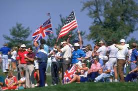 American Flag 1845 1987 Ryder Cup Jacklin Concorde Olly And Of Course Seve