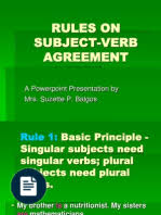 subject verb agreement exercises vitamin dietary supplements