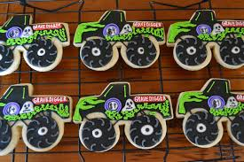 grave digger monster trucks jackandy cookies monster truck cookies grave digger