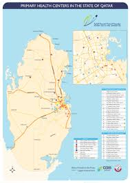 Qatar Route Map by Al Thumama Health Center Opens To The Public Doha News