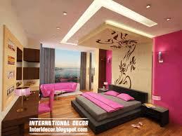 False Ceiling Designs For Bedroom Photos Contemporary Bedroom Designs Ideas With False Ceiling And Decorations