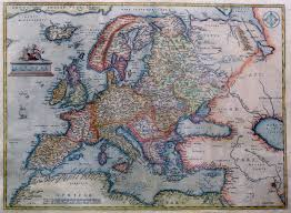 Historical Maps Of Europe by File Abraham Ortelius Map Of Europe Jpg Wikimedia Commons