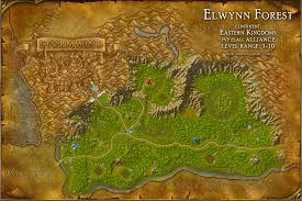map quests elwynn forest map with locations npcs and quests of warcraft