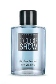 buy maybelline new york color show nail paint remover 30 ml