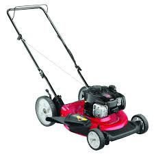 yard machines refurbished 21 in 140cc ohv walk behind gas lawn