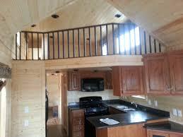 park model mobile home loft home decor ideas