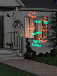 happy halloween whirl a motion with strobe projection light ebay