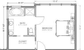 Master Bedroom Suite Floor Plans Additions 44 Floor Plans For Master Bedroom Suites Master Suite With Unique