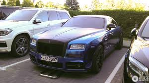 mansory rolls royce dawn rolls royce mansory wraith bleurion 18 september 2016 autogespot