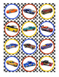 hot wheels birthday party pack free printables kids