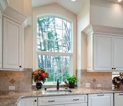 kitchen sink window trim diy kitchen sink window curtains ideas