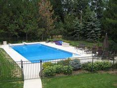 Swimming Pool Backyard Designs Rectangle Pool Wisconsin Rectangle Pool Designs Rectangular