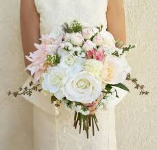 silk bridal bouquets silk sunflower wedding bouquets best 25 artificial wedding silk