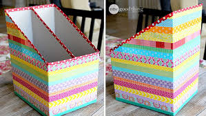 cara membuat lemari buku dari kardus bekas sulap kardus bekas jadi wadah nan cantik rumah dan gaya hidup