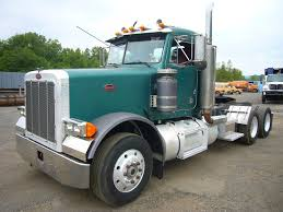 used peterbilt trucks 1993 peterbilt 379 tandem axle day cab tractor for sale by arthur