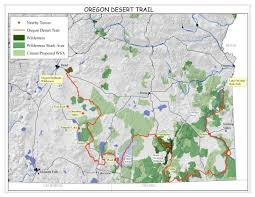 Portland Crime Map by Oregon Desert Trail Maps Waypoints To Be Announced Online Timed