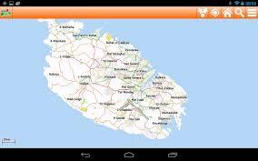 Malta World Map Malta Offline Mappa Map Google Play Store Revenue U0026 Download