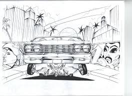 coloring pages of lowrider cars back jumping lowrider cars coloring pages zahlkarte site