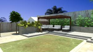 Modern Backyard Landscaping Home Design Ideas - Contemporary backyard design ideas