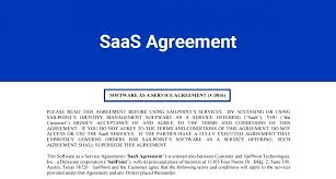 why saas license agreement template had been so popular