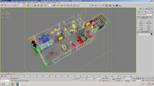 3d model cutaway residential building photorealistic