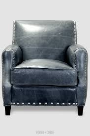Leather Arm Chairs Howdy Armchair In Mont Blanc