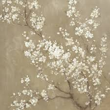 white cherry blossom white cherry blossoms ii canvas wall by danhui nai icanvas