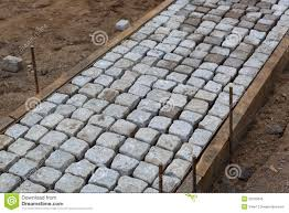 Pictures Of Stone Walkways by Stone Pavers For Walkway Royalty Free Stock Photo Image 20133045