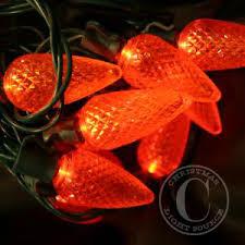c9 christmas lights orange c9 led christmas lights