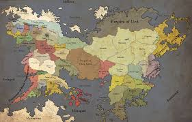 Lord Of The Rings World Map by Download Full Map Middle Earth Major Tourist Attractions Maps