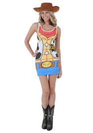 womens toy story woody tunic tank