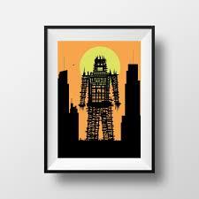 radiohead wicker man inspired print radiohead art radiohead