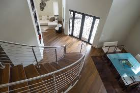 Curved Handrail Curved Stainless Steel Rod Railings Bella Stairs